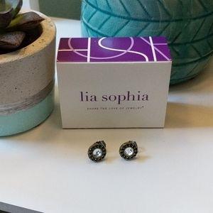 New Lia Sophia post earrings